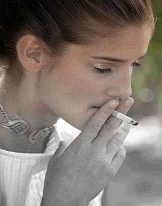 teen smokers