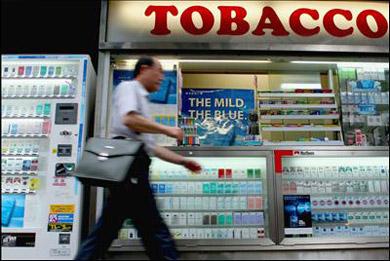 Japan's tobacco consumer