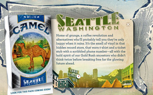 camel seattle advertising campaign