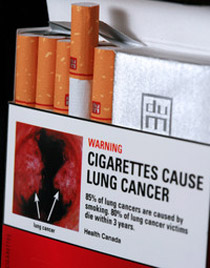 graphic cigarettes warning