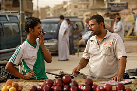 iraq-smoking